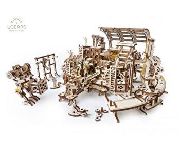 Puzzle 3D - Fabrica de roboti, 598 piese