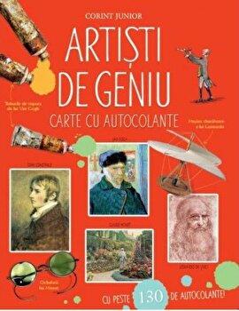 Artisti de geniu. Enciclopedie cu autocolante/Megan Cullis
