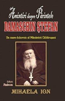 Amintiri despre Parintele Damaschin Stefan/Mihaela Ion imagine elefant.ro 2021-2022