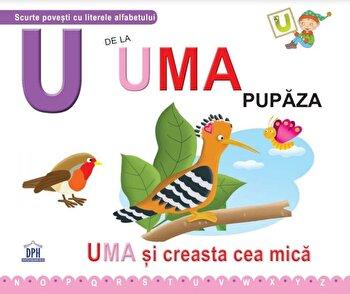 U de la Uma, pupaza/Greta Cencetti, Emanuela Carletti imagine elefant.ro 2021-2022