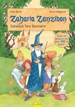 Zaharia Zanzibon, Vol. 3:Salveaza Tara Basmelor/Silke Moritz
