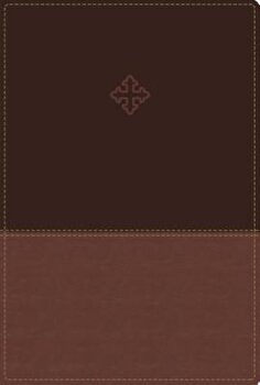 Amplified Study Bible, Imitation Leather, Brown, Indexed, Hardcover/Zondervan imagine