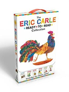 The Eric Carle Ready-To-Read Collection: Have You Seen My Cat'/The Greedy Python/Pancakes, Pancakes!/Rooster Is Off to See the World/A House for Hermi, Paperback/Eric Carle poza cate