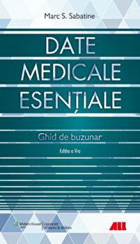 Date medicale esentiale - Ghid de buzunar/Marc S. Sabatine imagine elefant.ro