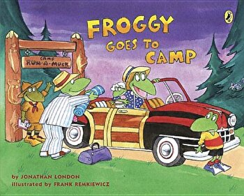 Froggy Goes to Camp, Paperback/Jonathan London poza cate