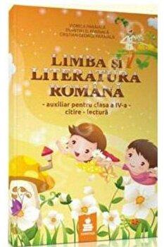 Limba si literatura romana, citire-lectura, auxiliar pentru clasa a IV-a (galben)/Dumitru D. Paraiala