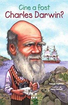Coperta Carte Cine a fost Charles Darwin'