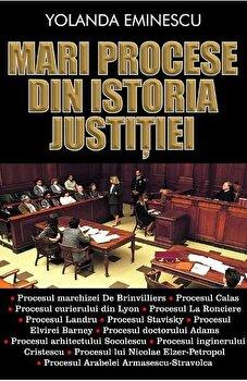 Mari procese din istoria justitiei/Yolanda Eminescu imagine elefant.ro 2021-2022
