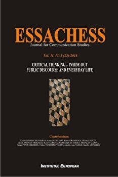 Essachess - Critical Thinking - Inside Out. Public Discourse and Everyday Life/*** imagine elefant.ro 2021-2022