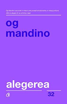 Image of Alegerea/Og Mandino