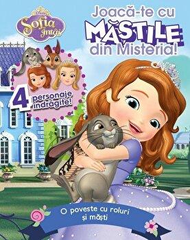 Imagine Joaca-te Cu Mastile Din Misteria - O Poveste Roluri Si Masti - 4 Personaje