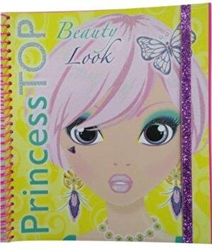 Princess Top - Beauty Look (Galben)/*** imagine elefant.ro 2021-2022
