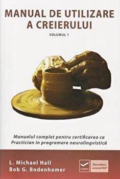 Coperta Carte Manual de utilizare a creierului - Vol. 1