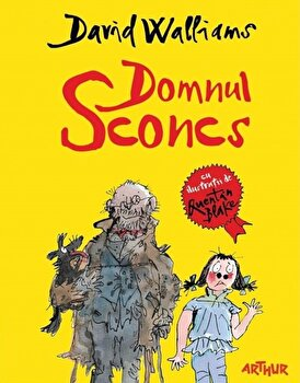 Domnul Sconcs/David Walliams, Quentin Blake imagine