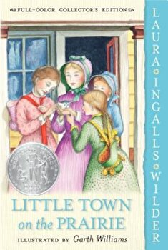 Little Town on the Prairie, Paperback/Laura Ingalls Wilder imagine