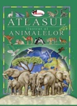 Atlasul ilustrat al animalelor/Eleonora Barsotti imagine elefant.ro 2021-2022