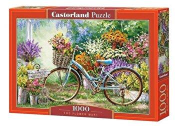 Puzzle Piata de flori - 1000 piese