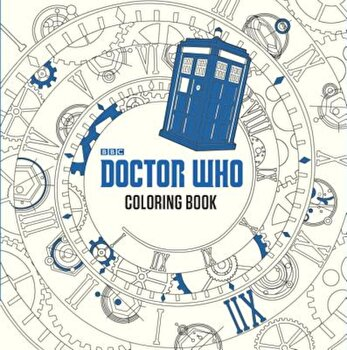 Doctor Who Coloring Book, Paperback/James Newman Gray poza cate
