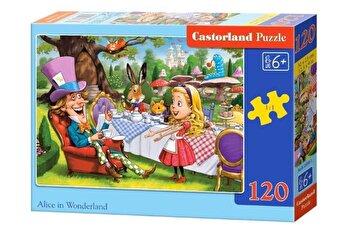 Puzzle Alice in Tara Minunilor, 120 piese