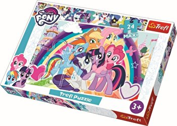 Puzzle maxi My Little Pony, 24 piese