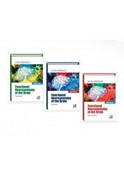 Pachet Functional neuroanatomy of the brain. Volume I, Volume II, Volume III/Leon Danaila