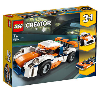 LEGO Creator 3 in 1, Masina de curse Sunset 31089