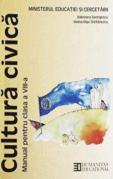 Cultura civica. Manual pentru clasa a VIII-a/Dakmara Georgescu, Doina-Olga Stefanescu poza cate