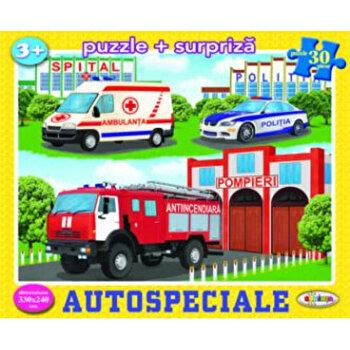 Puzzle - Autospeciale (30 piese)/*** imagine