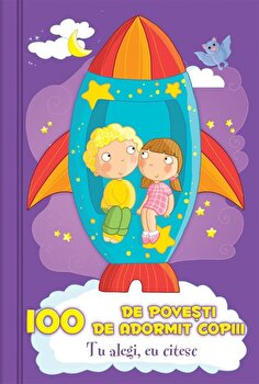 100 de povesti de adormit copiii - 50 de jetoane fata-verso/Claire Bertholet