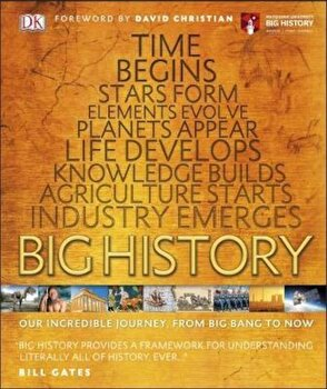 Big History, Hardcover/DK poza cate