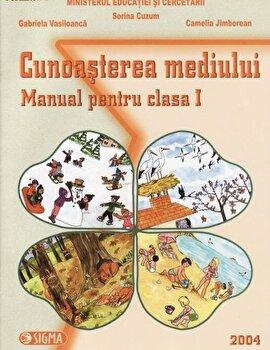 Coperta Carte Cunoasterea mediului. Manual pentru clasa I