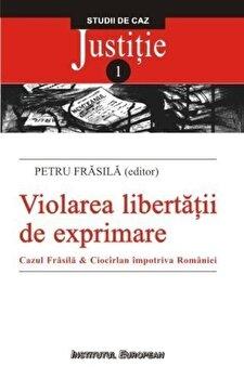 Violarea libertatii de exprimare/Petru Frasila imagine elefant.ro 2021-2022