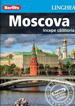 Coperta Carte Moscova - Ghid Turistic