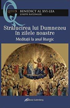Stralucirea lui Dumnezeu in zilele noastre. Meditatii la anul liturgic/Papa Benedict al XVI-lea imagine elefant.ro 2021-2022