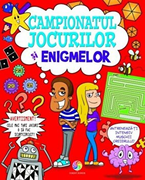 Campionatul jocurilor si enigmelor/Edward Godwin, Jane Moseley, Jackie Strachan imagine elefant.ro 2021-2022