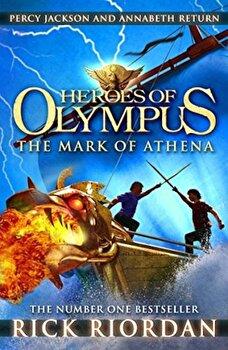 The Mark of Athena (Heroes of Olympus)/Rick Riordan poza cate