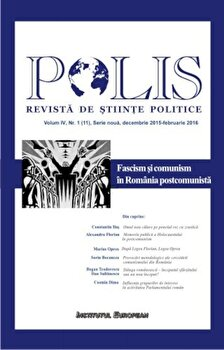 Coperta Carte Polis - Fascism si comunism in Romania postcomunista