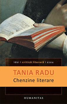Coperta Carte Chenzine literare