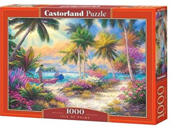 Puzzle Insula de palmieri, 1000 piese