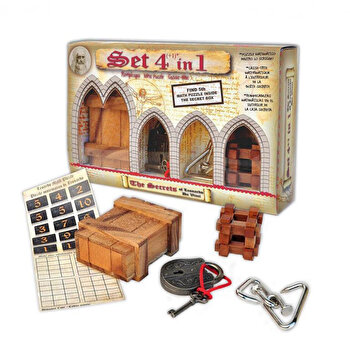 Set 4 in 1 puzzle logic Leonardo