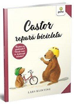Castor repara bicicleta/Lars Klinting