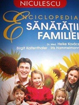 Coperta Carte Enciclopedia sanatatii familiei