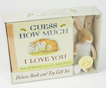 Guess How Much I Love You: Deluxe Book and Toy Gift Set 'With Toy Rabbit', Hardcover/Sam McBratney poza cate