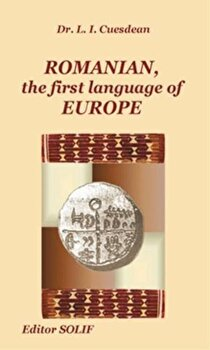 Romanian, the first language of Europe/Lucian Iosif Cuesdean imagine elefant 2021