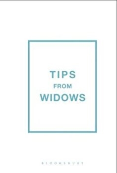 Tips from Widows, Hardcover/Jan Robinson poza cate
