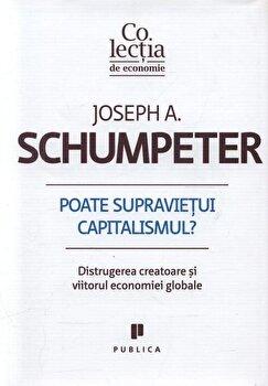 Poate supravietui capitalismul' Distrugerea creatoare si viitorul economiei globale/Joseph A. Schumpeter imagine elefant.ro 2021-2022
