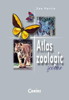 Atlas Zoologic Scolar/Zoe Partin imagine elefant.ro 2021-2022