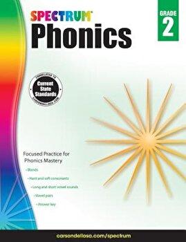 Spectrum Phonics, Grade 2, Paperback/Spectrum image0