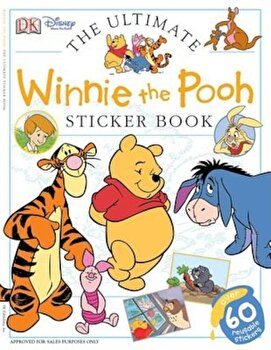 Ultimate Sticker Book: Winnie the Pooh 'With Sticker', Paperback/DK Publishing poza cate