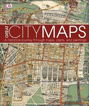 Great City Maps, Hardcover/DK poza cate